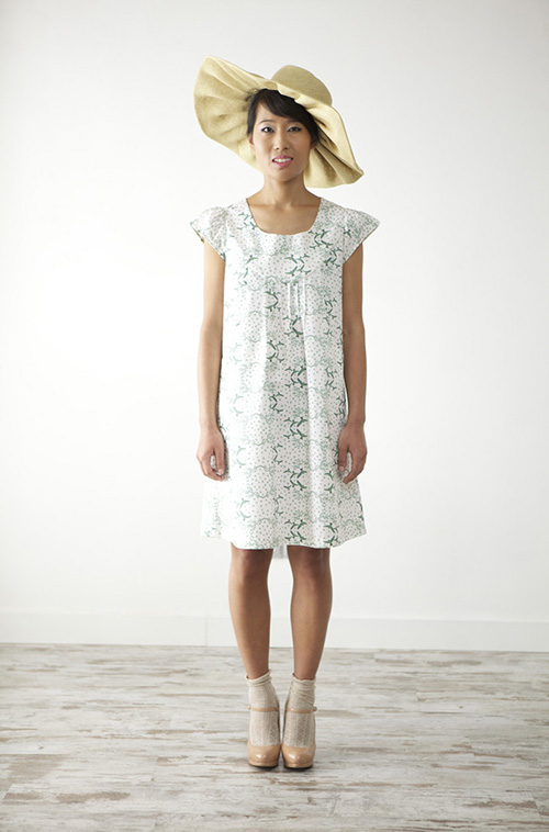 Branches dress 3